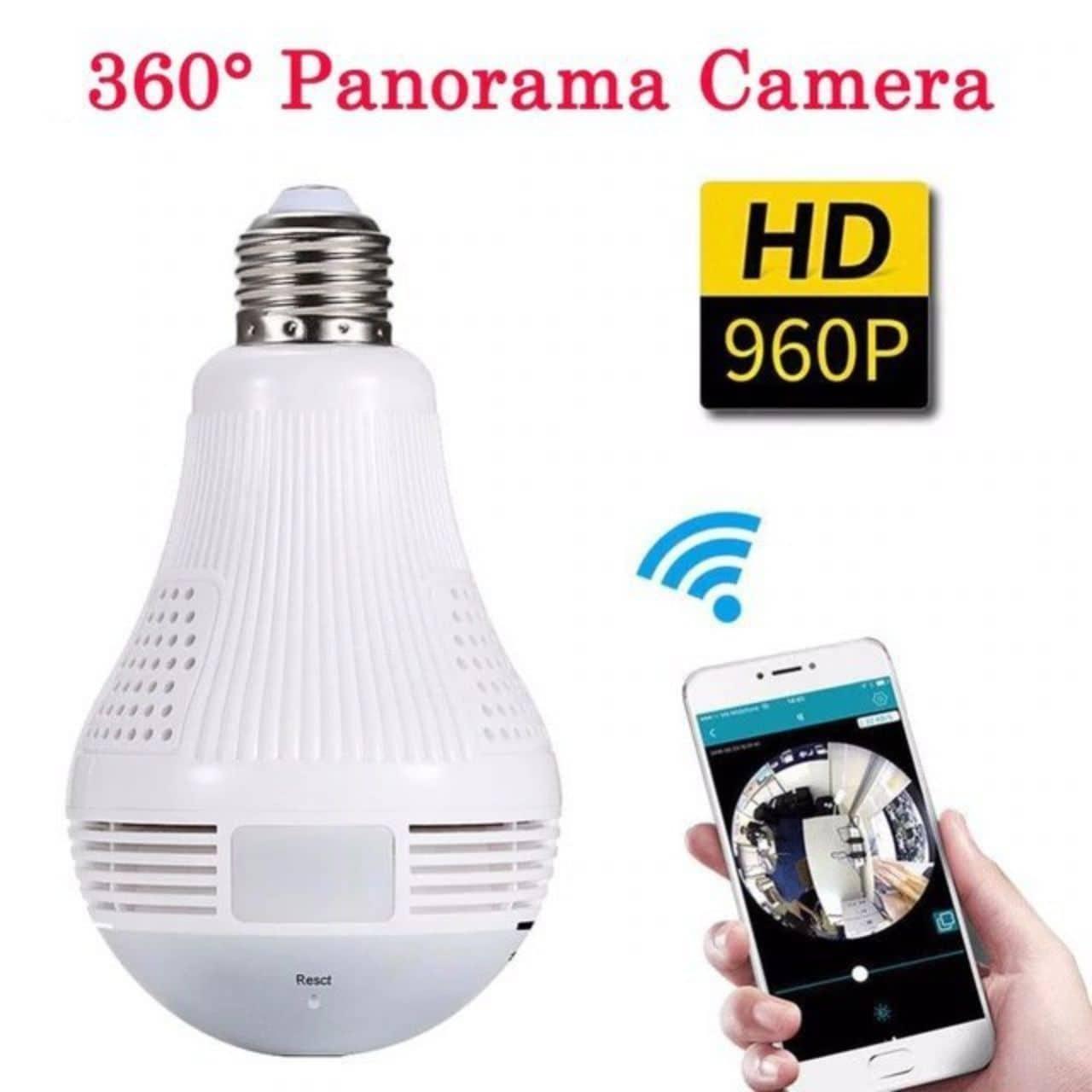 الكاميرا المصباح لمراقبة المنزل